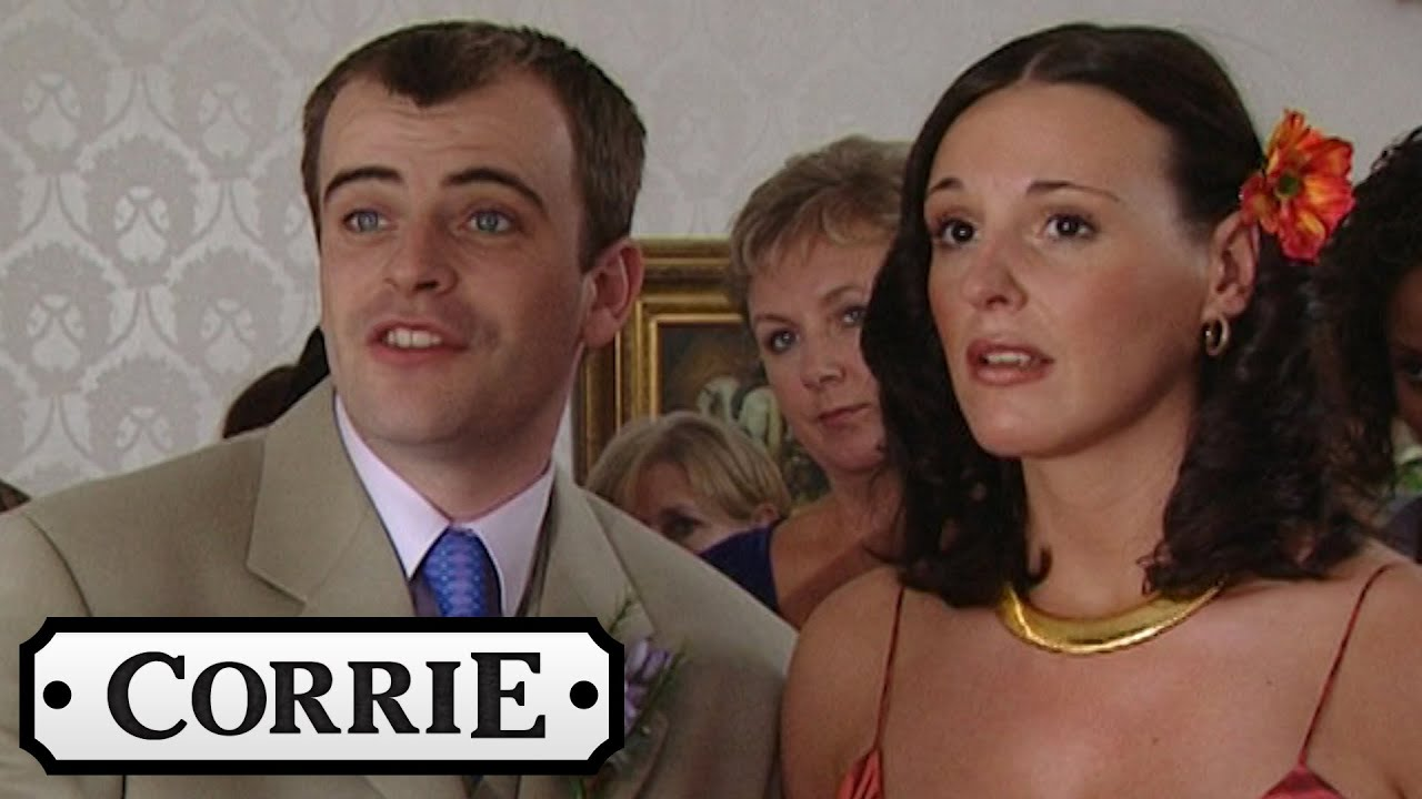 Coronation Street Steve S Weddings And Karen First Wedding