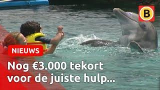 Houseparty voor dolfijnentherapie voor gehandicapte Sem Oomen