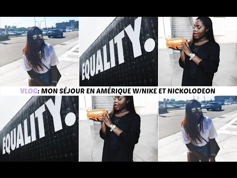 GLORIA EN AMÉRIQUE (NIKE, NICKELODEON) - WEEKLY VLOG