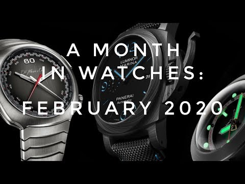 A Month In Watches: February 2020 With Panerai, Grand Seiko, Swatch & More