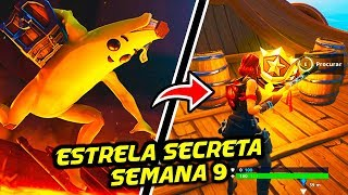 STAR SECRET SEASON 8 SEMAINE 9-Fortnite Bataille Royale