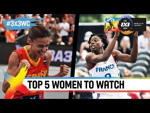 Top 5 women to watch in Manila | FIBA 3x3 World Cup 2018