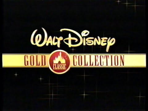 classic collection walt disney gold classic collection 1997 promo vhs 758