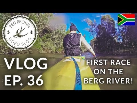 My first race on the Berg River! - Ben Brown Vlog ∆ Ep.36