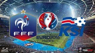 EM Viertelfinale Frankreich gegen Island I PES EM 2016 Spielprognose
