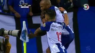 Goal | Golo Marius: FC Porto (5)-0 D. Chaves (Liga 18/19 #1)