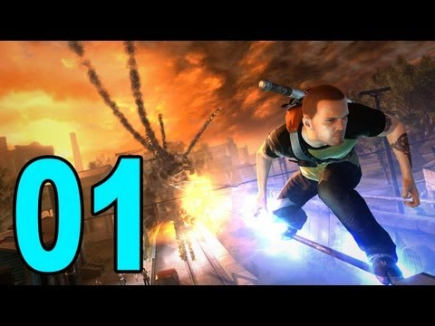 inFamous 2 - Part 1 - The Beginning (Let's Play / Walkthrough / Playthrough)