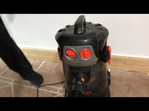 UNBOXING REVIEW TACKLIFE Wet Dry Vacuum 4 Gallon 4 HP Peak Shop Vacuum with Extension Wand