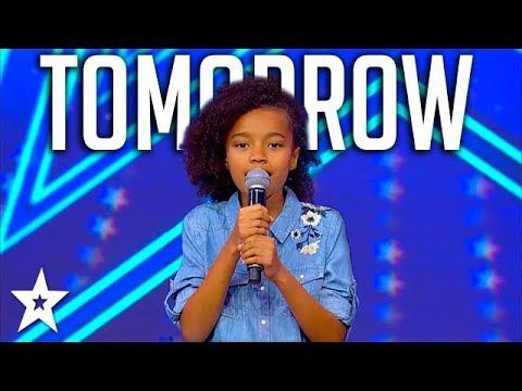 Sweet Little Girl Sings Annie Musical Tomorrow on Israel's Got Talent 2018