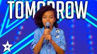 Sweet Little Girl Sings Annie Musical Tomorrow on Israel&#39s Got Talent 2018