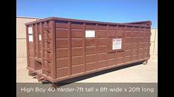 Trash Container Rental Sylmar | Dumpster Rental Sylmar | BG's Big Box