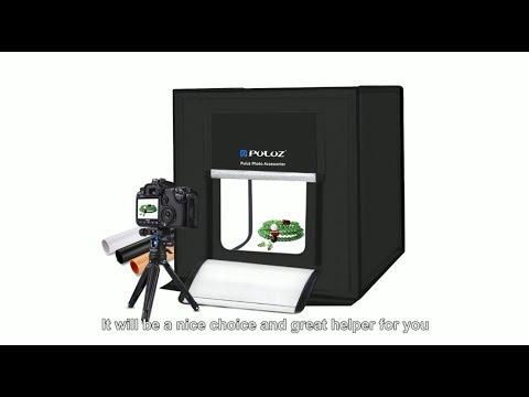 puluz-folding-portable-white-light-photo-lighting-tent-box-kit-with-3-colors-backdrops