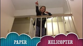 Paper Helicopter Experiment/ Paper Helicopter Science STEM