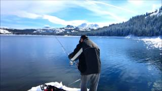 Silver lake amador county california watch the video for Lake amador fishing