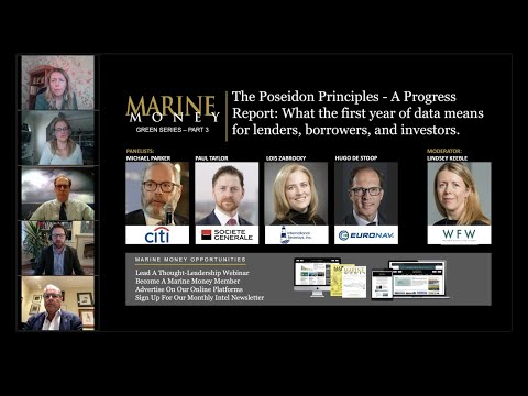 The Poseidon Principles - A Progress Report: What the first year of data means...