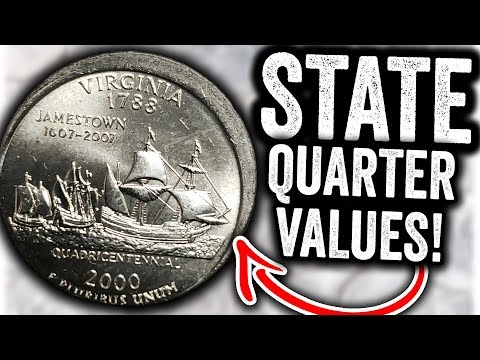2000 STATE QUARTERS WORTH MONEY!! RARE MODERN COINS TO LOOK FOR IN POCKET CHANGE