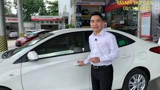 Toyota vios E MT 2019 chưa bao giờ giá rẻ đến thế - Mạnh Toyota Thái Nguyên