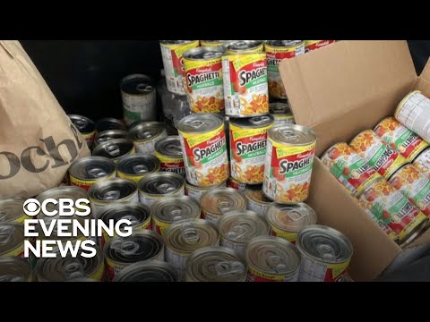 Hundreds of cans of Spaghetti-O's sent to mom and daughter with autism