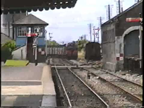 Athenry Railway Station 1989 by Tom Curran, Tucson