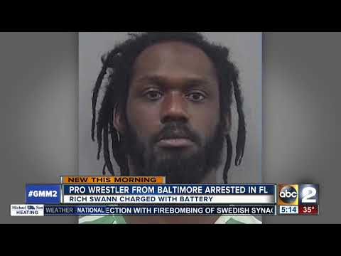 Pro wrestler from Baltimore arrested in FL