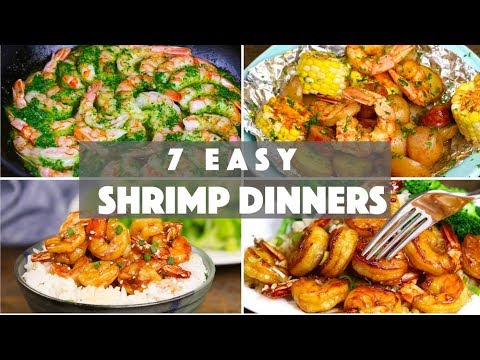 7 Easy Shrimp Dinner Ideas