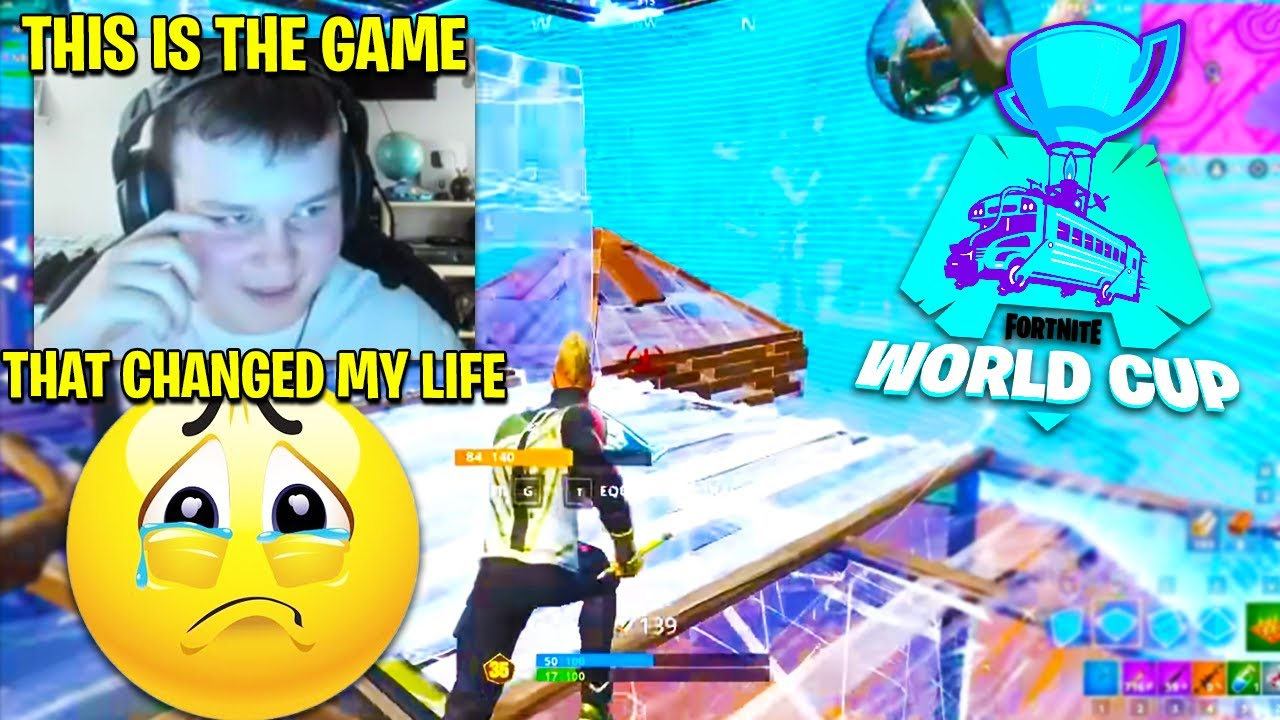 BENJYFISHY GETS *EMOTIONAL* Reacting to Fortnite World Cup Qualification 1 Year Later...