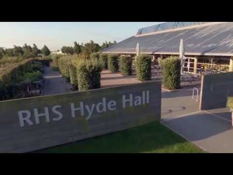 RHS Garden Hyde Hall From the Sky