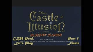 CB88 Productions: Let's Play Castle of Illusion Starring Mickey Mouse (Part 5 Finale)