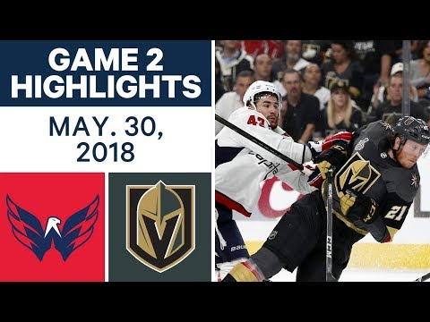 NHL Highlights | Capitals vs. Golden Knights, Game 2 - May 30, 2018