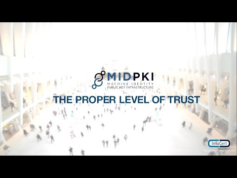MID PKI: the InfoCert's solution to add TRUST in the IoT space