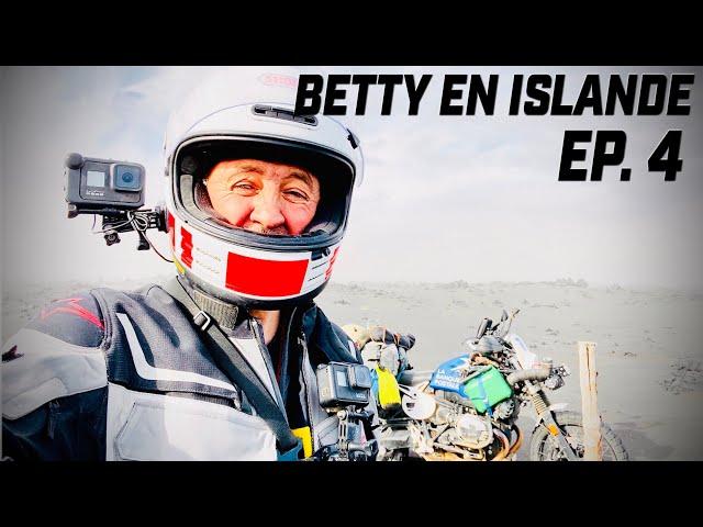 BETTY DANS LA TEMPETE EN ISLANDE  ► SAND STORM IN ICELAND  ► EP.4