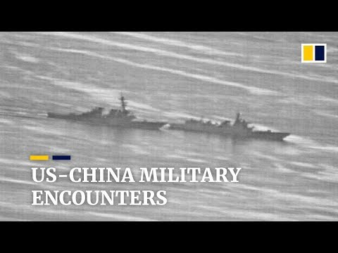 US Navy had 18 unsafe encounters with China's military over last two years