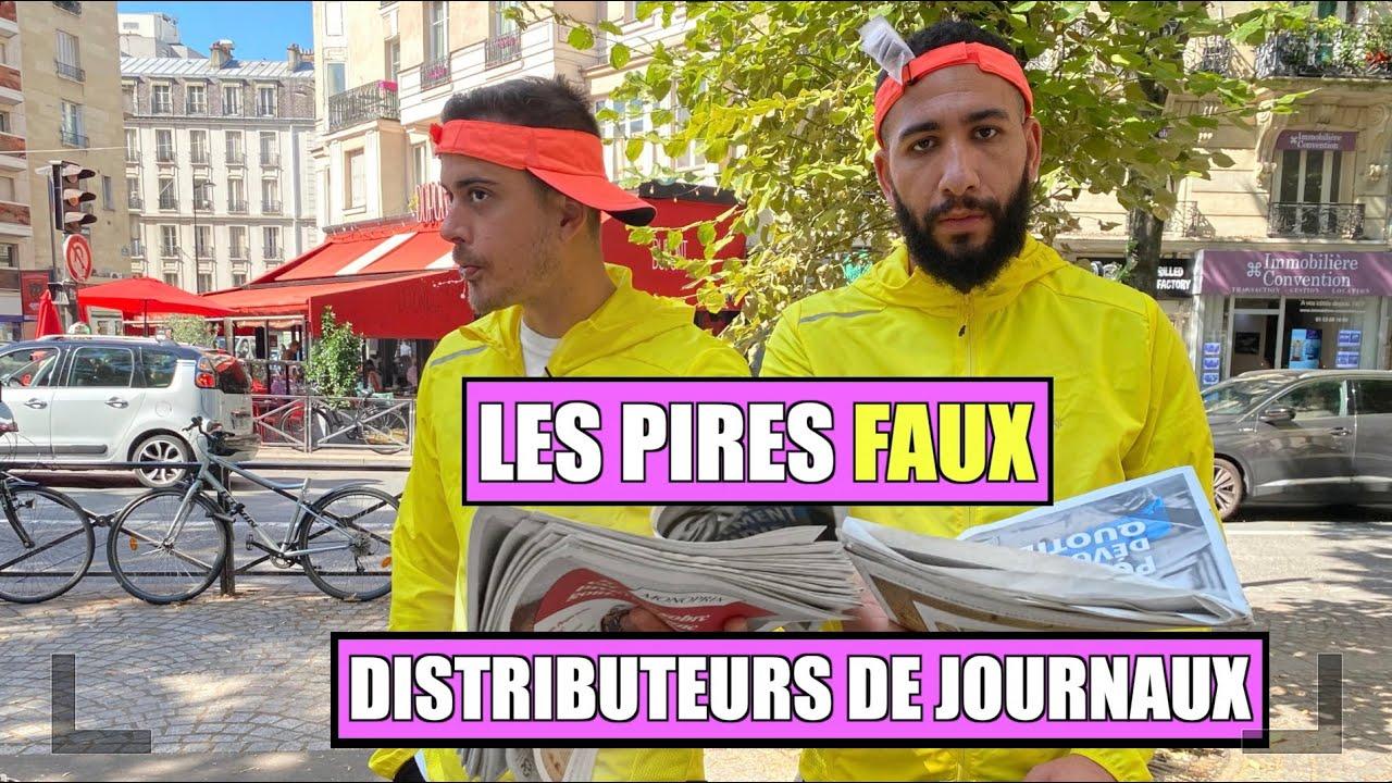 LES PIRES FAUX DISTRIBUTEURS DE JOURNAUX (Volume 1)