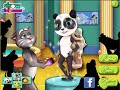 Angela Cat Body Paint - Talking Tom Cat games