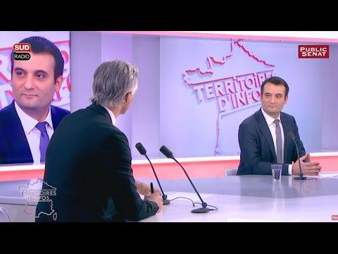 Florian Philippot - Territoires d'infos - Le Best of (06/12/2016)