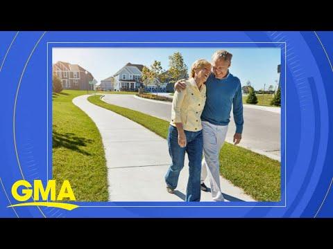 New-study-reveals-the-benefits-of-walking-l-GMA