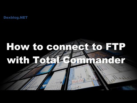 How to connect to FTP with Total Commander