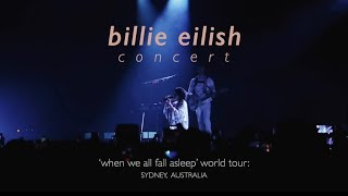billie eilish concert | sydney (300419) 💤💭
