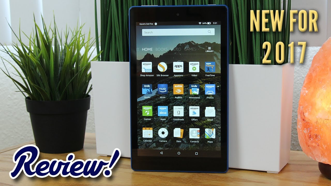 548bc2072dae Amazon Fire HD 8 with Alexa (2017 Model) - Complete Review! - YouTube