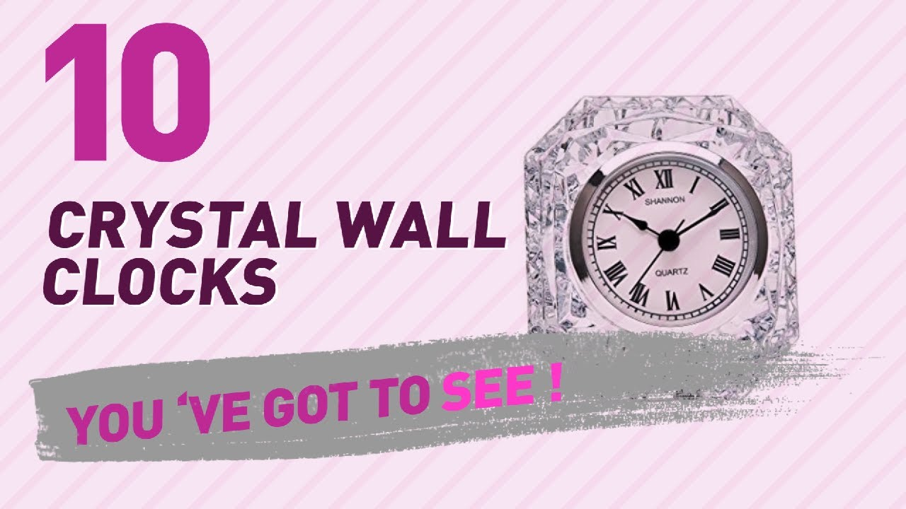 Crystal wall clocks new popular 2017 youtube crystal wall clocks new popular 2017 amipublicfo Choice Image