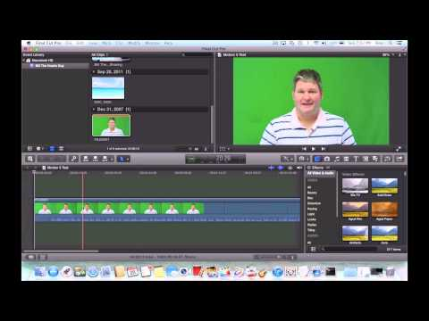How to Create Motion 5 Effects for Final Cut Pro X