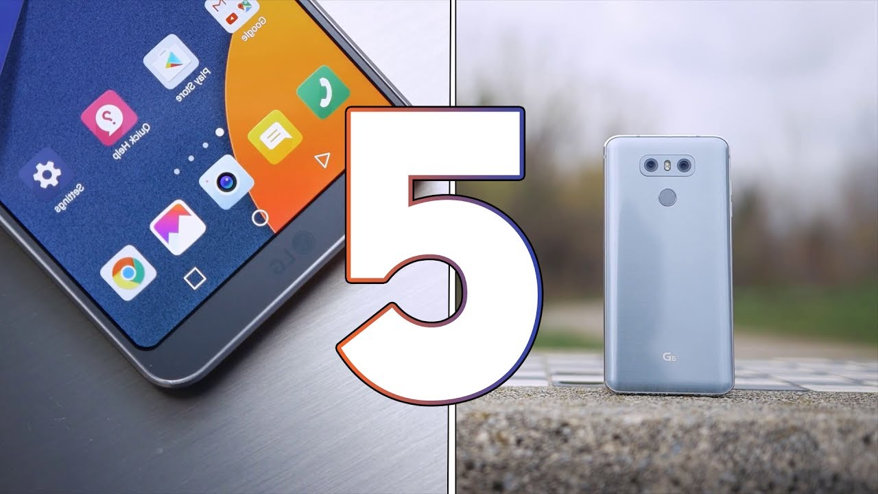 5 Problems with LG G6