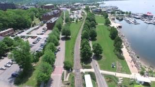 Burlington Waterfront Drone Footage 6/10/15