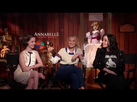 ANNABELLE COMES HOME - McKenna Grace, Madison Iseman & Katie Sarife