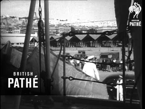 British Mediterranean Fleet In Algiers (1952)
