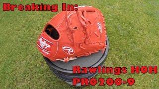 Breaking In Rawlings Heart of the Hide PRO200-9