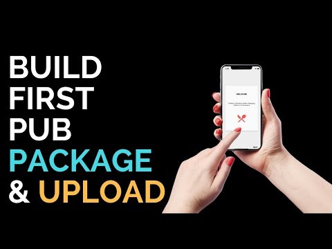 Flutter: Build your first pub package and upload   Implement Walkthrough