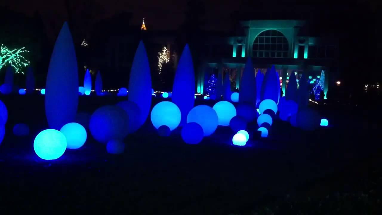 Atlanta Botanical Garden Light ShowYouTube