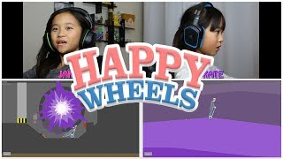 Happy Wheels: Multiplayer Challenge! / Two-player Split Screen Battle!