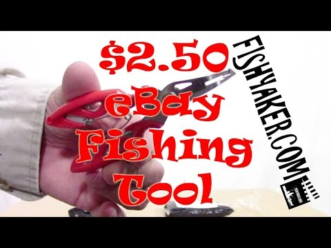 $2.50 Chinese EBay Fishing Pliers Review: Episode 275